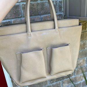 mat&nat tote/laptop/diaper bag